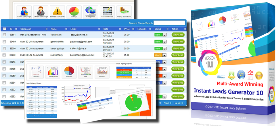 Leads Distribution Software